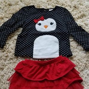 Gymboree penguin set